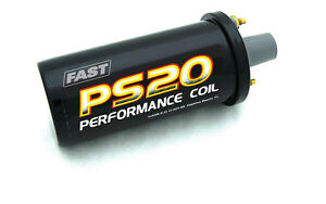 Fast Ps91 Ignition Coil P n 730 0020 S20 Canister Oil 1 400 Ohm Female Sock