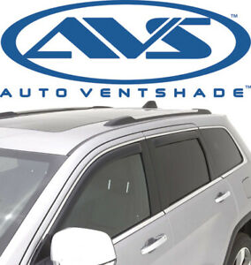 Avs 194252 In Channel Window Rain Ventvisor 4 Piece 2011 18 Jeep Grand Cherokee