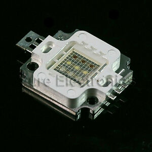 10pcs 10w Rgb High Power Led Light Smd Chip Bead Panel 10 Watt Integrated Bulb