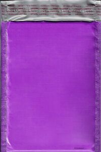250 0 Purple Poly Bubble Mailers Envelopes Bags 6x10 Extra Wide Cd Dvd 6x9