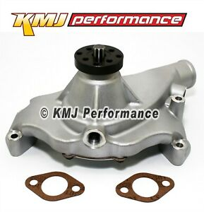 Big Block Chevy 396 454 High Volume Short Aluminum Water Pump Natural 5 8 Pilot