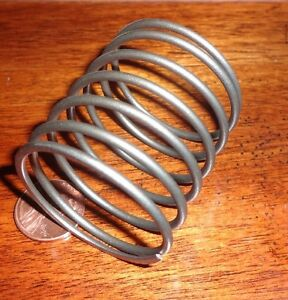 Helical Steel Spring 1 1 2 X 1 404 X 1 3 4 0 09 Wire Size Military 5263970