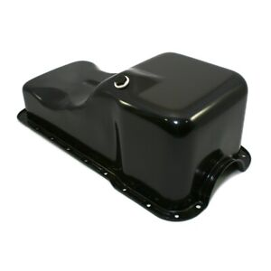 Sbf Ford 302 Front Sump Oil Pan Black Small Block Windsor 260 289 5 0 Mustang