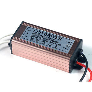 10pcs 110v 220v 10w Watt High Power Led Driver 50 60hz Waterproof 300ma