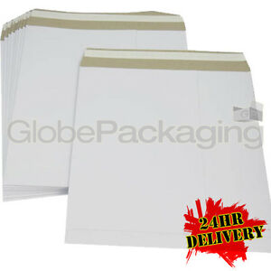 100 X 12 Strong White Lp Record Mailers Envelopes 24hr