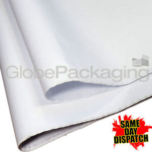 500 Sheets Of White Acid Free Tissue Paper 375x500mm