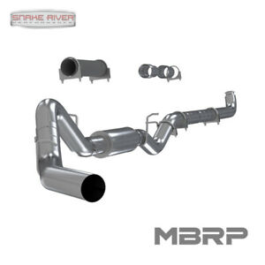 Mbrp 4 Exhaust Down Pipe Back 01 07 Chevy Gmc Duramax Diesel 6 6l Aluminized