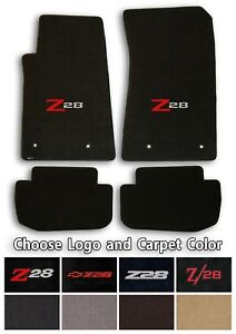 Chevrolet Camaro Z28 4pc Classic Loop Carpet Floor Mats Choose Color