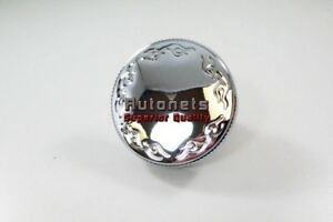 Chrome Billet Aluminum 16 Psi Flamed Round Knurled Grip Radiator Cap Chevy Ford