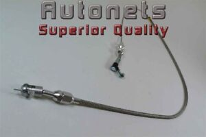 Braided Stainless Steel 36 Throttle Cable Aluminum Chevy Ford Mopar Hot Rod 302
