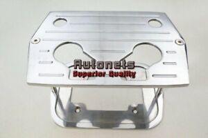 Polished Aluminum Billet Milled Hold Down Optima Red Yellow Battery Bracket Tray