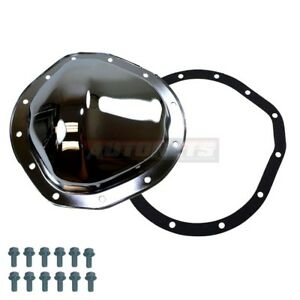 Chrome Steel Differential Cover 12 Bolt 8 75 Ring Gear Gmc C10 K10 Chevy Truck