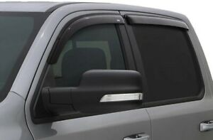 Avs 94355 Tape on Window Ventvisors 4 piece 2000 2007 Chevy Silverado Gmc Sierra