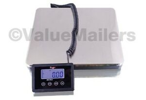 Saga 160 Lb Digital Postal Scale For Shipping Weight Postage W ac 76 Kg