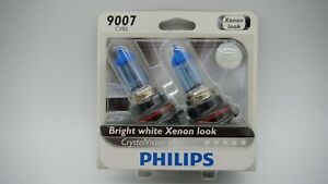 New Philips 9007 Hb5 65 55w Cvs2 Crystal Vision Ultra 1 Pair Dual Hid Xenon Look