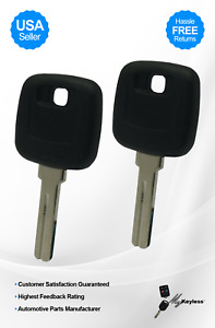 New Volvo 940 960 Uncut Blank Ignition Car Key Blade Replacement Uncut Pair