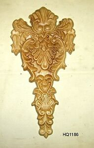 Wood Embossed Applique 6 X 11 3 4 Hq1186