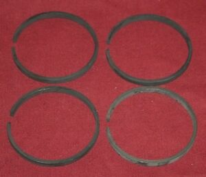 International Mccormick M 1 5 Hp Ignitor Piston Rings Set Gas Engine Motor