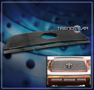For 2007 2008 2009 Toyota Tundra Front Upper Bumper Billet Grille Insert Combo