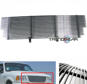 2001 2002 2003 Ford Ranger Xlt 4wd edge Main Upper Billet Grille Grill Polished