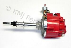 New Chevy Late Inline 6 Cylinder Six Hei Distributor 230 250 292 Red 65k Coil