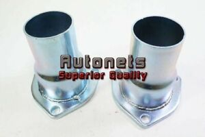 2 1 2 To 2 Header Exhaust Collectors Flange Reducers Sbc Bbc 350 454 Rat Rod