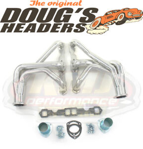 Doug S Headers D334 1963 1974 Chevy Corvette Sbc 327 350 Ceramic Coated Headers