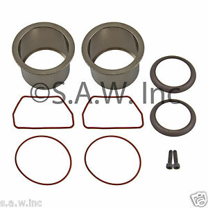 Set Of 2 K 0650 Compressor Ring Kits Oil Free Single And Twins Cylinders Pumps
