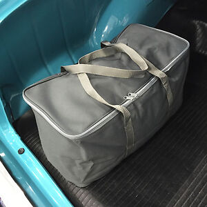 California Car Cover Deluxe Grey Tote Duffel Bag For Cover Storage Size Small