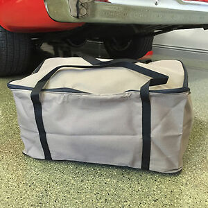 California Car Cover Deluxe Tan Tote Duffel Bag For Storage Size Large Tote1tn