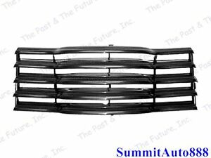 50 51 52 53 Chevy Pickup Pu Truck Grille Grill Assembly Painted Black Cpgr4753 1