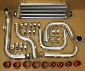 2 5 Inlet Pipe Civic Integra Bolt On Turbo Front Mount Intercooler Piping Kit