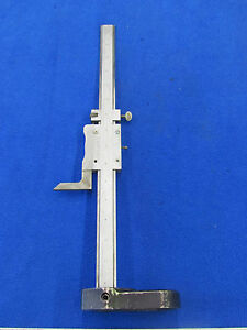 Ls Starret 12 255 Height Gage A 03401 8