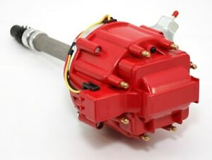 Chevy Big Small Block 350 454 Hei Distributor 65k Coil Red Cap W Tach Drive