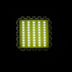 2pcs 50w White High Power Led Light Smd Chip Bead Panel 4000lm Integrated Buld