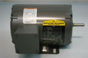 Baldor Reliance Industrial Motor 25hp 1 3 65amps 1725rpm 60hz Aom3454