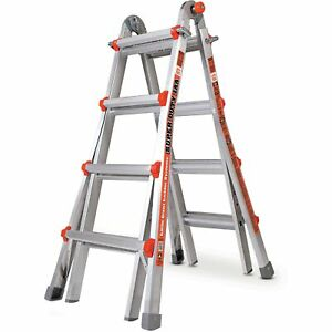 Little Giant 10402 Super Duty Type 1aa 375lbs Rated 17 Multi use Ladder