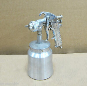 Air System Paint Gun With Cannister Body Shop Equipment Supplies