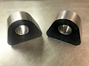 Pair Of Weld On Recovery Shackle Mounts For Use With 3 4 Bow Shackles