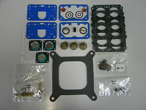 Holley Aed Qft Ccs 4150a Carburetor Rebuild Kit Double Pumper 600 1050 Cfm Alcoh