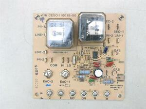 Carrier Bryant Fan Control Circuit Board Ceso110018 00 Ces0110018 00