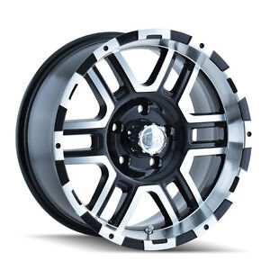 Ion Alloys 179 Wheels Rims 17x8 Fits Dodge Ram 2500 3500 Cummins Megacab