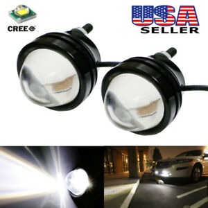 White High Power 5w Bull Eye Led Projector Lights For Fog Drl Parking Or Backup