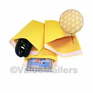 1000 0000 4x6 Kraft Bubble Shipping Mailers Paddded Envelopes Bags 000 Minus