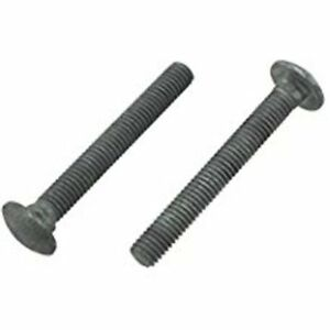 3 8 X 3 1 2 Galvanized Carriage Bolts 100 Bulk Wholesale Lot