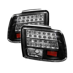 Tail Lights Ford Mustang 1999 2004 Led Black