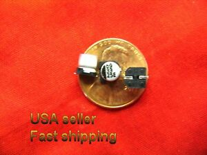 100 Pcs 33uf 25v Smd Electrolytic Capacitors