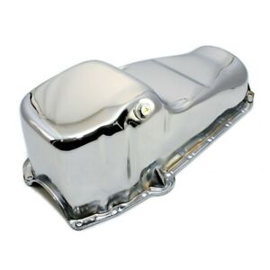 58 79 Sbc Chrome Stock Capacity Oil Pan 283 305 327 350 400 Small Block Chevy