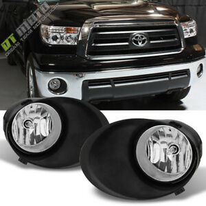 For 2007 2013 Toyota Tundra Bumper Fog Lights Lamps switch covers Set Left right