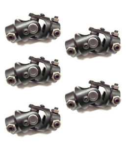5 Lot 5 8 36 Spline X 3 4 Dd Black Universal Steering Vega Box U Joint Coupler